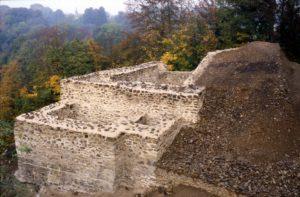 Le Château des Fées après sa mise en valeur.